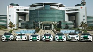 令人难以置信的迪拜警车