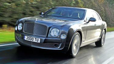 Bentley Mulsanne在巴黎电机节目中获得性能版本