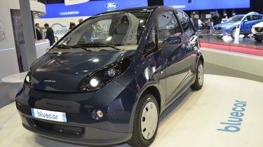 Bluecar电动车计划从2015年开始在伦敦推出