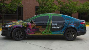 福特Mondeo概念预览了新的轻量级型号