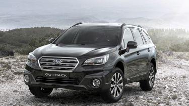 Subaru Outback收益Black&Ivory特别版模型