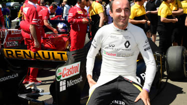 Robert Kubica完成2017年F1测试作为卷土出价继续