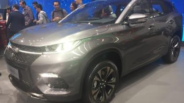 奇瑞EXEEED TX SUV使法兰克福电机显示首次亮相