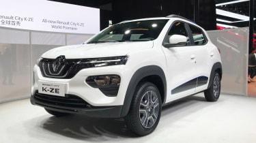 新雷诺城k-ze在上海透露,作为便宜的电动SUV