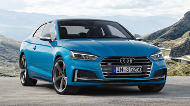 奥迪S5获得新的342BHP轻度混合v6柴油