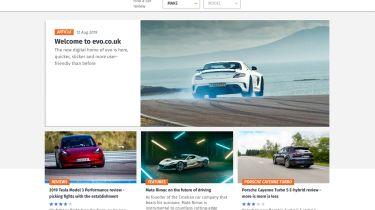 新的evo.co.uk网站推出