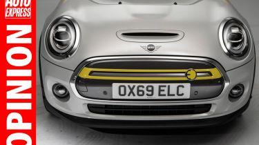 'Vauxhall和Peugeot需要削减电动汽车价格与迷你'竞争