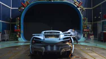 RIMAC C_TWO Hypercar完成空气动力学测试