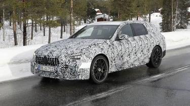 Mercedes-AMG C 63 Estate在2022年到来之前进行了测试