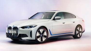 新的2021 BMW I4电动车透露367英里范围