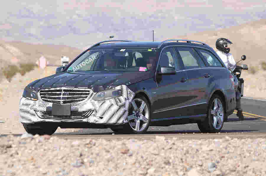 Fackifted Mercedes E-Class Spied