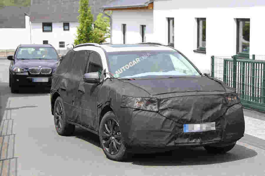 新的Acura SUV SCIED测试